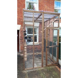 Catio / Cat Lean To 6ft x 8ft x 8ft Tall Waterproof Roof